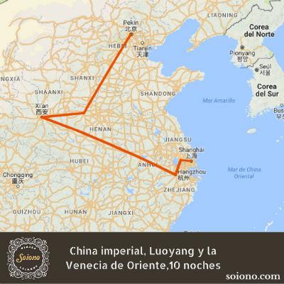 China imperial, Luoyang y la Venecia de Oriente,10 noches