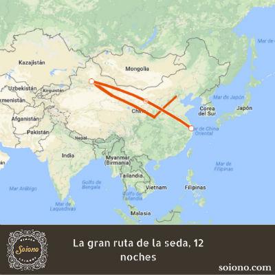 La gran ruta de la seda, 12 noches