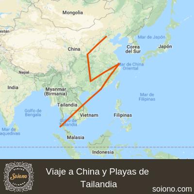 Viaje a China y Playas de Tailandia