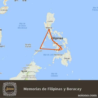 Memorias de Filipinas y Boracay