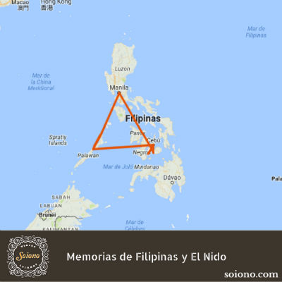 Memorias de Filipinas y El Nido