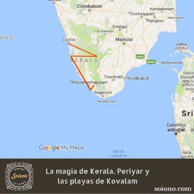 La magia de Kerala, Periyar y las playas de Kovalam
