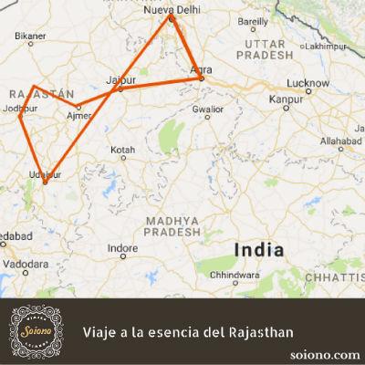 Viaje a la esencia del Rajasthan