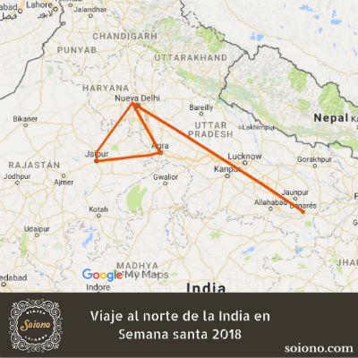 Viaje al norte de la India en Semana Santa 2019