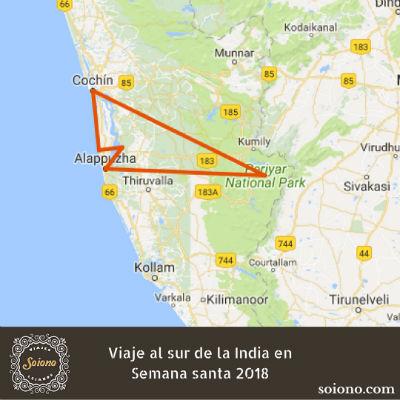 Viaje al sur de la India en Semana Santa 2019