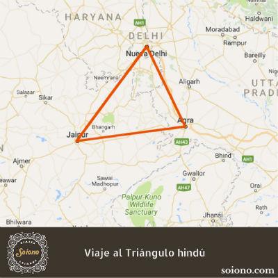 Viaje al Triángulo hindú en palacios