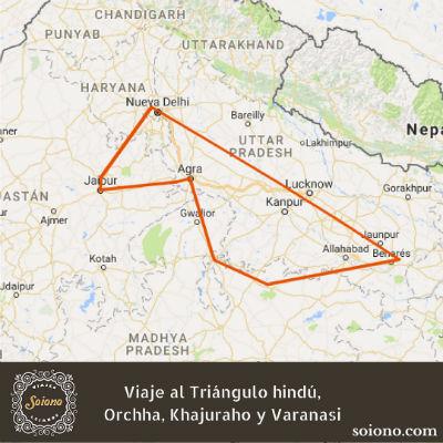 Viaje al Triángulo hindú, Orchha, Khajuraho y Varanasi