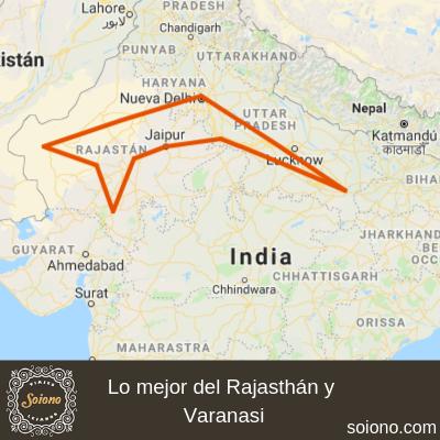 Lo mejor del Rajasthán y Varanasi