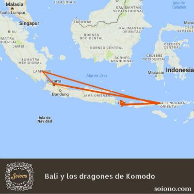 Bali y los dragones de Komodo