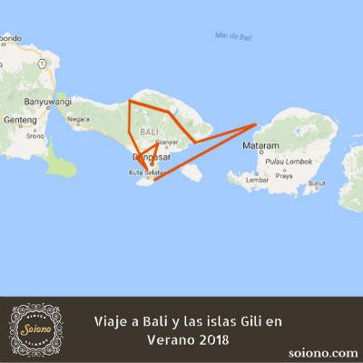 Viaje a Bali y las islas Gili en Verano 2018