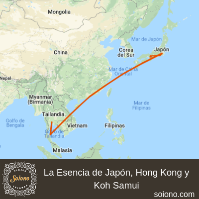 La Esencia de Japón, Hong Kong y Koh Samui