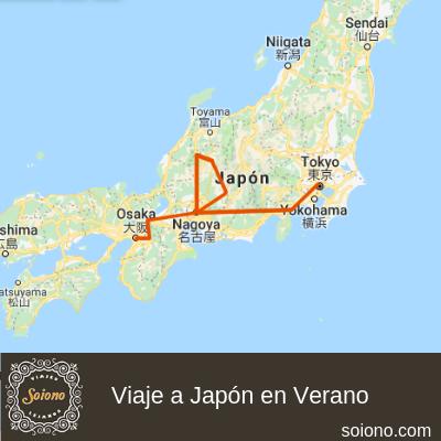 Viaje a Japón en verano 2019