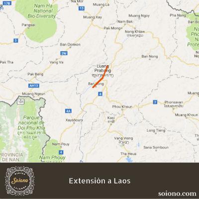 Extensión a Laos