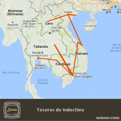 Tesoros de Indochina