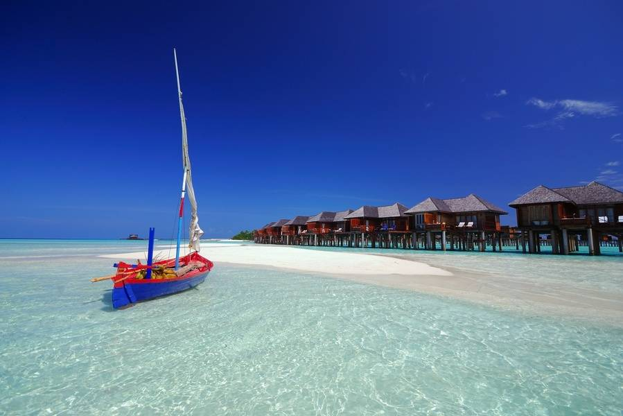 Maldivas en el hotel Olhuveli Beach resort & Spa 4*