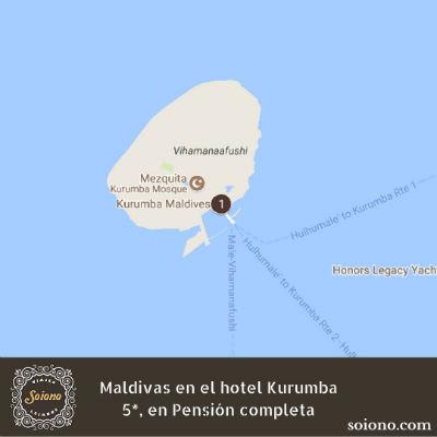 Viaje a Maldivas, Hotel Kurumba 5*