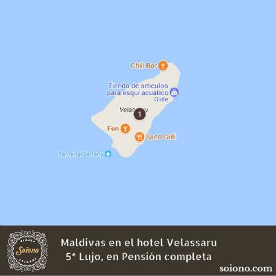 Vacaciones de lujo en Maldivas, Hotel Velassaru 5*