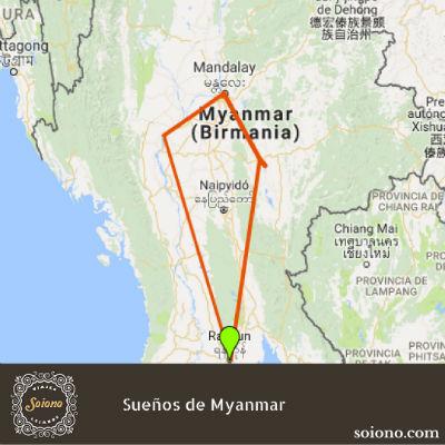 Sueños de Myanmar