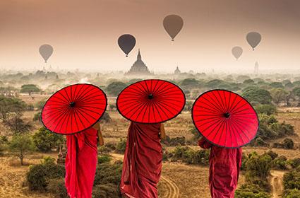 Sueños de Myanmar  y Krabi