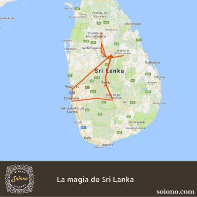 La magia de Sri Lanka