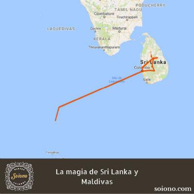 La magia de Sri Lanka y Maldivas
