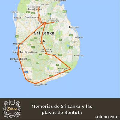 Memorias de Sri Lanka y las playas de Bentota