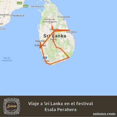 Viaje a Sri Lanka en el festival Esala Perahera