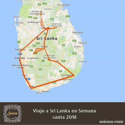 Viaje a Sri Lanka en Semana Santa 2019