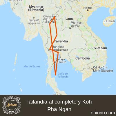 Tailandia al completo y Koh Pha Ngan