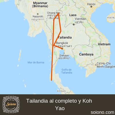 Tailandia al completo y Koh Yao