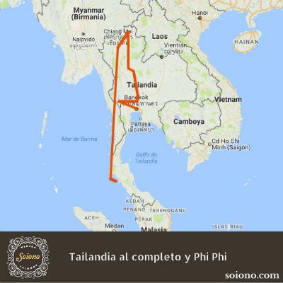 Tailandia al completo y Phi Phi
