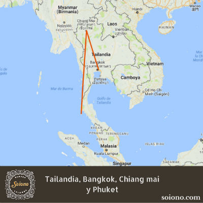 Viaje a Tailandia: Bangkok, Chiang mai y Phuket