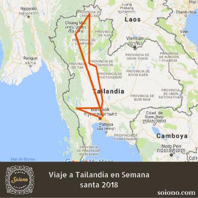 Viaje a Tailandia en Semana santa 2019