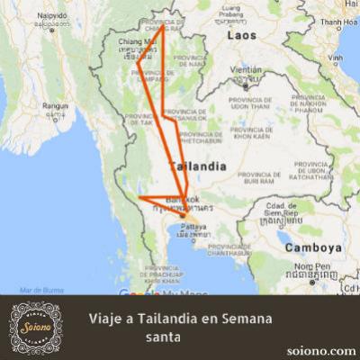 Viaje a Tailandia en Semana Santa 2021