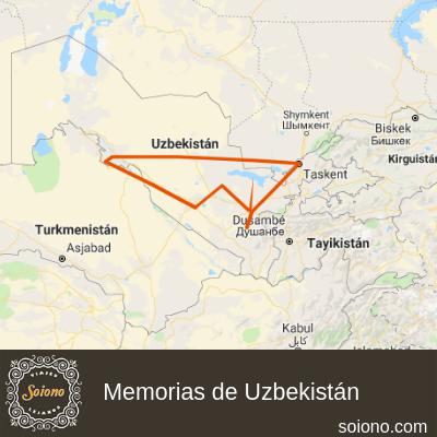 Memorias de Uzbekistán