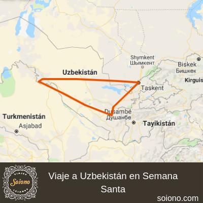 Viaje a Uzbekistán en Semana Santa 2021