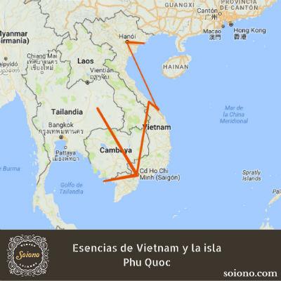 Esencias de Vietnam y la isla Phu Quoc