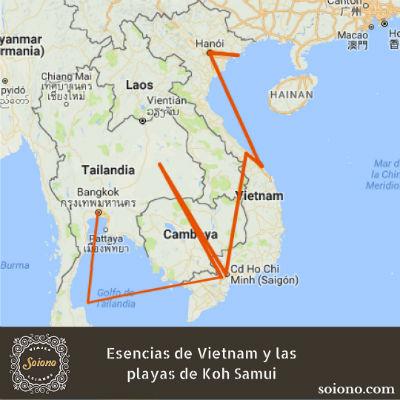 Esencias de Vietnam y las playas de Koh Samui