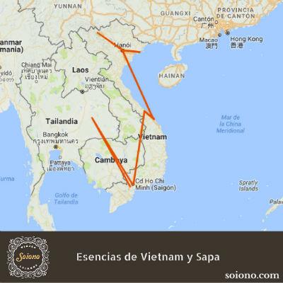 Esencias de Vietnam y Sapa