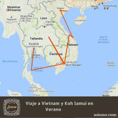 Viaje a Vietnam y Koh Samui en Verano 2019