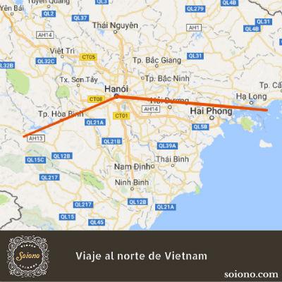 Viaje al Norte de Vietnam en Navidad 2019